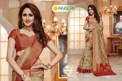 Rajguru Exclusive  Saree with blouse piece