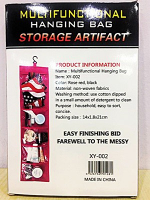 Multifunction Hanging Bag Storage Artifact-C: 0164