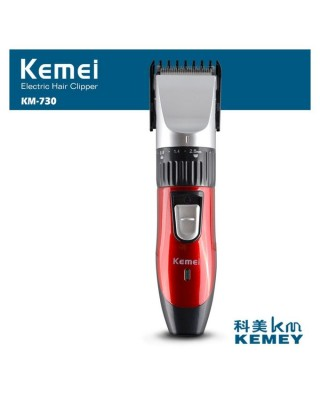 Kemei KM - 730 Rechargeable Hair Trimmer-C: 0168