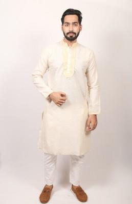Men Indian Braso check panjabi PJ-169