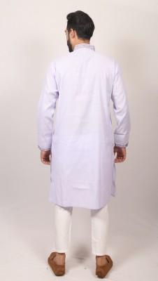 Men Indian Braso check panjabi PJ-170