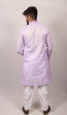 Men Indian Braso check panjabi PJ-172
