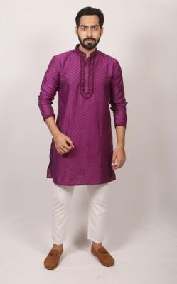 Men Indian cotton panjabi PJ-173