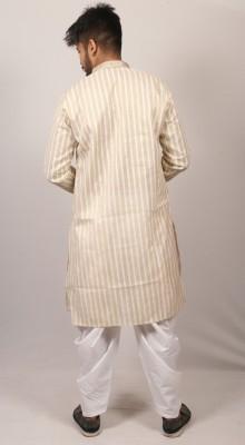 Men Indian jute cotton panjabi PJ-189