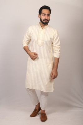 Men Indian jutecotton panjabi PJ-190