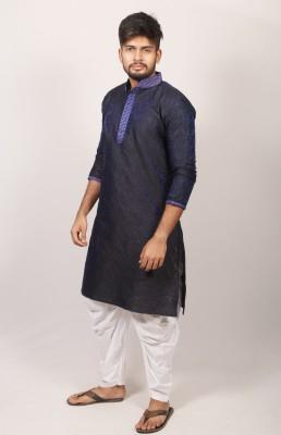 Men's Indian  kata cotton panjabiPJ-199