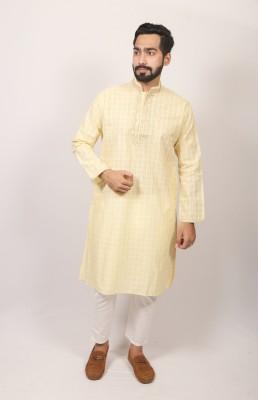 Men  Braso cotton panjabi PJ-213