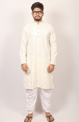 Men  Braso cotton panjabi PJ-215