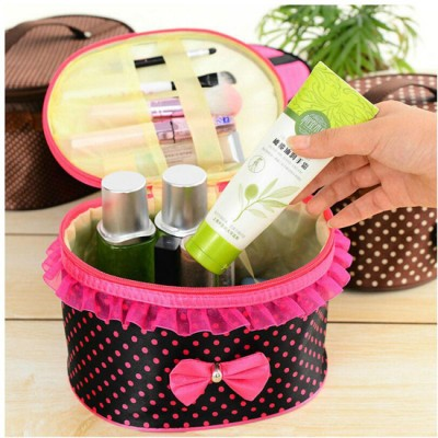 Bow Storage Bag / Cosmetics Organizer-C: 0171