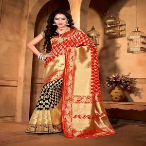 Original Indian Katan Saree