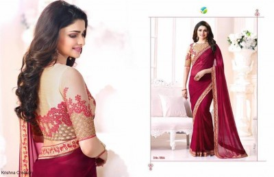 Star Blossom Party Saree