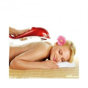 Small Dolphin Shaped Handheld Massager-C: 0180