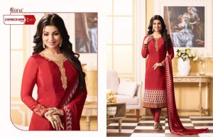 Crepe Silk Salwar Suits by Fiona