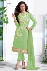 unstiched block printed cotton replica three pcs salwar kameez