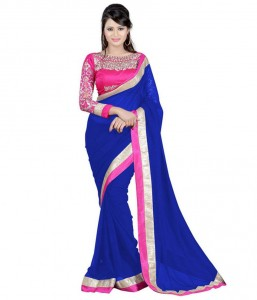 Weight Less Georgette saree  SS-99