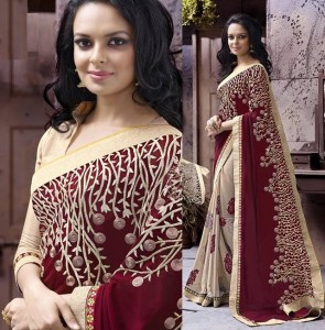 Weight Less Georgette saree SS-244