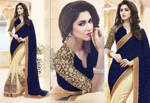 Weight Less Georgette saree SS-480