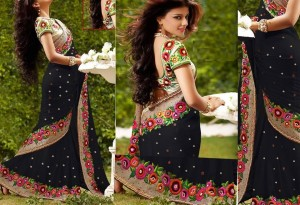 Weight Less Georgette saree  SS-584