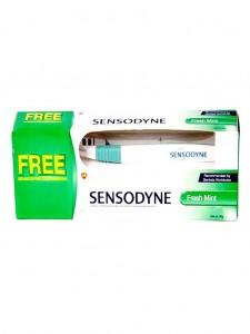 Sensodyne Fresh Gel Toothpaste with Free Tooth Brush – 80g