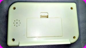 Sound Control Backlight L.C.D Clock-C: 0189