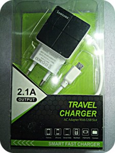 Samsung 2 Usb Port Fast Charger-C: 0190