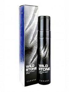 WILD STONE Chrome Perfume Body Spray – 120ml