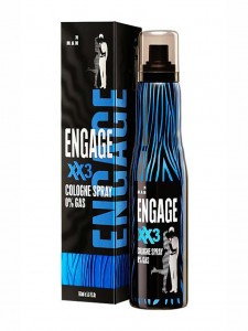 Engage Cologne Spray XX3 for Men 165ml
