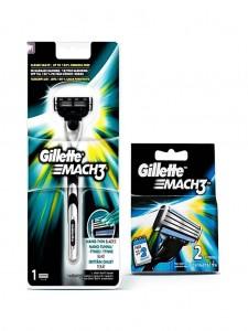 GILLETTE MACH3 Razor Stick 3 Blades