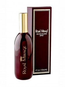 ROYAL MIRAGE Brown Eau De Cologne Classic Original