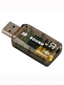 Heavy Duty USB 3d Sound Card