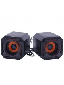 Mini Cubic USB Speaker – Black