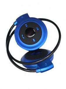 Mini-503 Wireless Bluetooth Sports Stereo Headset – Blue