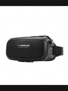 VR SHINECON 3D Virtual Reality Video Glasses – Black