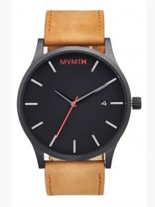 MVMT CLASSIC SERIES – 45 MM BLACK /BROWN TAN LEATHER Wrist Watch