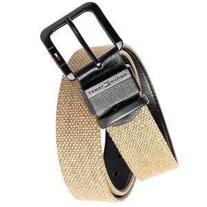 Tommy Hilfiger Light Brown Canvas Belt