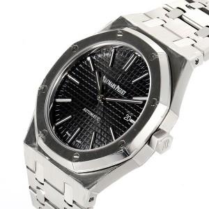Audemars Piguet 67650 Royal Oak Silver Black Watch
