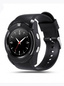 Bluetooth Smartwatch V8 Anti-lost Smart Watch Clock With Sim