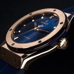Hublot Classic Fusion King Gold Blue