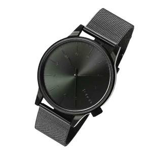 Komono Winston Royale Black Wrist Watch