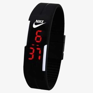 LED Silicone Bracelet Unisex Watch