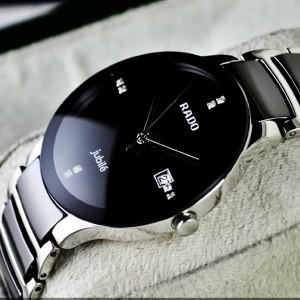 Rado Centrix Jubilé Watch Silver Black