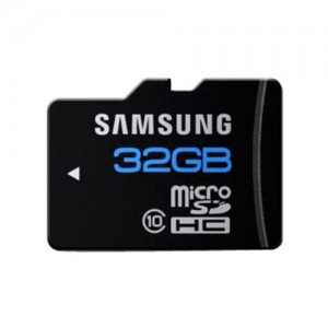 Samsung 32gb Micro SDHC Class 10 Memory Card-C: 0193