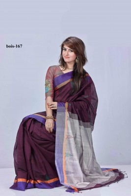 Monipuri Tossor Silk saree