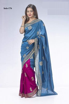 Pontu silk Spacial Butics saree