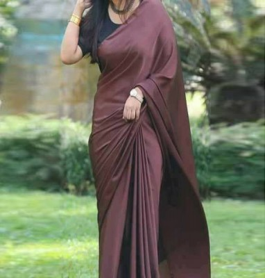 Satin silk saree