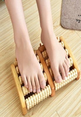 Wooden foot massager