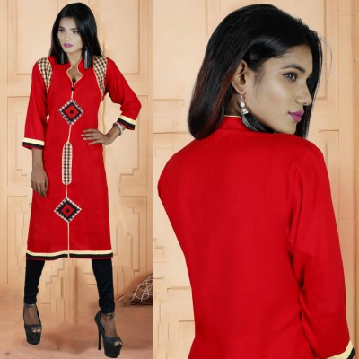 Linen Casual Kurti Tailor Made