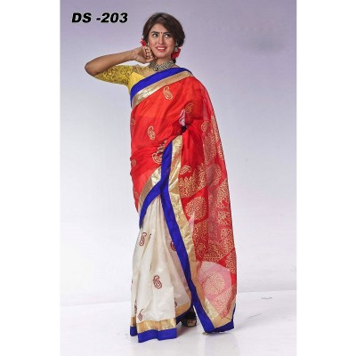Indian IS Katan Butics saree