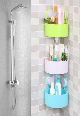 Plastic Bathroom Shelf Kitchen Storage Holder
