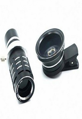 Micro and wide lens with 12X zoom lens